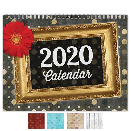 Focus in Pix 'Grungy Polka Dots' calendar
