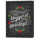 Happiest of Holidays Christmas Card