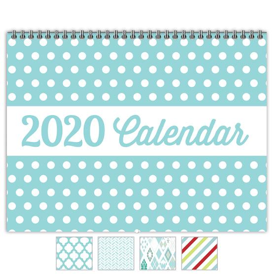Focus in Pix 'Polka Dots' calendar