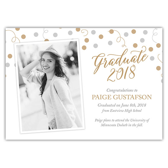 Celebration Spheres- Focus in Pix Graduation Card