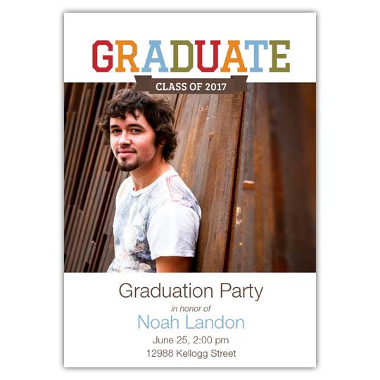 Collegiate - Focus in Pix Graduation Card