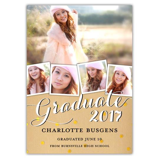 Craft Glitter - Focus in Pix Graduation Card