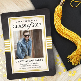 Create custom graduation invitations and announcements with Focus in Pix free software!