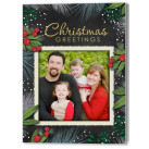 Christmas Splendor Holiday Christmas Fold Card