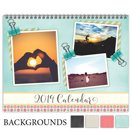 Focus in Pix 'Etched Textures' calendar