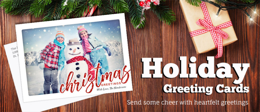 Create custom greeting cards focus in pix holiday christmas cards m4hsunfo