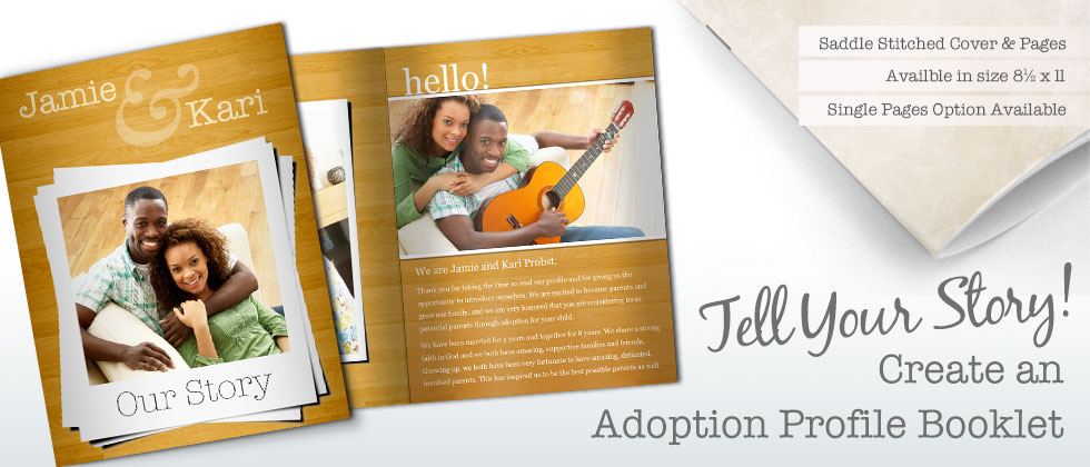Focus in Pix | Make an adoption profile with our easy-to-use software and templates!