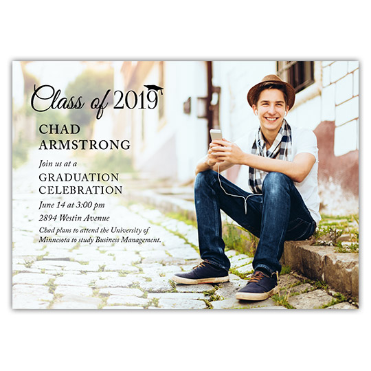 Picture Perfect - Focus in Pix Graduation Card