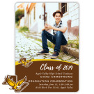 School Spirit, Apple Valley High School - Focus in Pix Graduation Party Invitation or Announcement