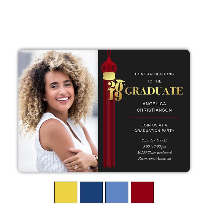 Grand Tassel - Focus in Pix Graduation Card