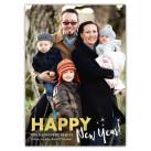 New Year Stars, Holiday Christmas Card