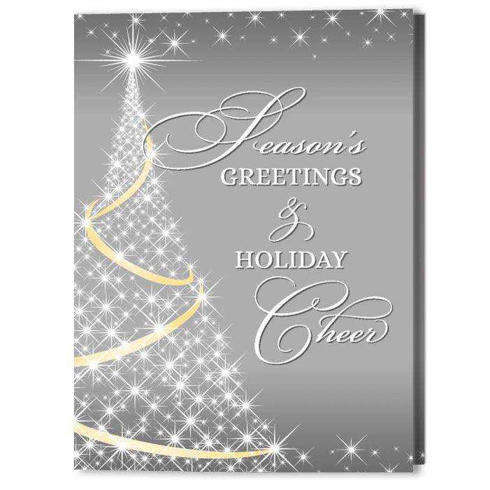 Twinkle Tree Holiday Christmas Card