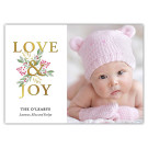 Love and Joy Bunch - Holiday Christmas Card
